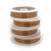 Craft Wire Non-Tarnish - Antique Bronze