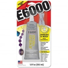 E6000 Jewellery And Bead Glue with Precision Tips - 29.5ml/1oz