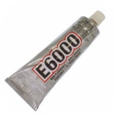 Industrial Strength E6000 Clear Glue - 109.4ml/3.7oz - Includes Nozzle