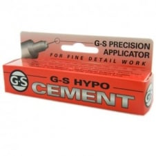 G-S Hypo Cement Glue - 9ml - Includes Precision Applicator