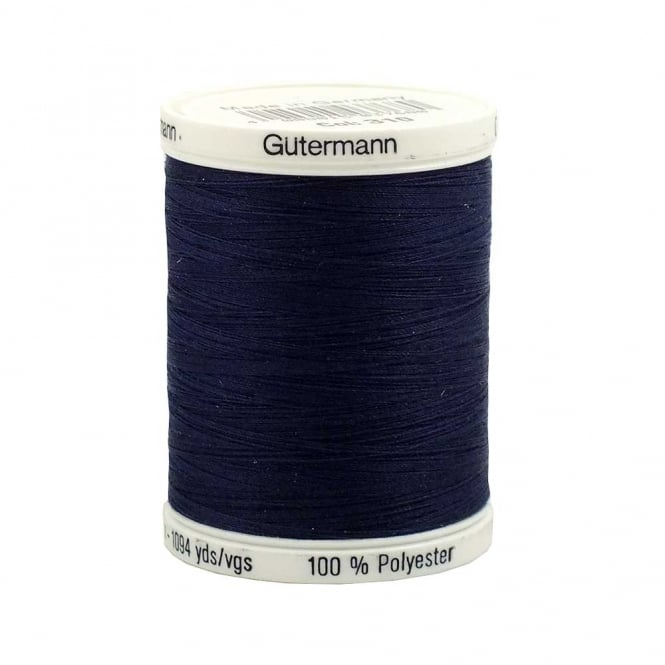 Gutermann Sew All Polyester Thread 1000m - Colour 310 - Navy Blue
