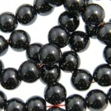 Hematite Round Gemstone Beads 8mm - 16