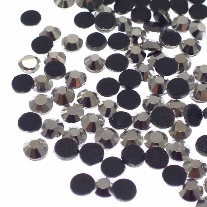 Hot Fix SS20 (5mm) Flatback Rhinestones - Silver - 70pk (5g)