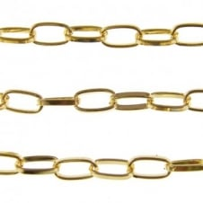Large Oval Chain - Gold Plated