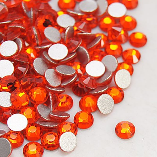 Non-Hot Fix 5mm (SS20) Flatback Rhinestones - Hyacinth - 100pcs