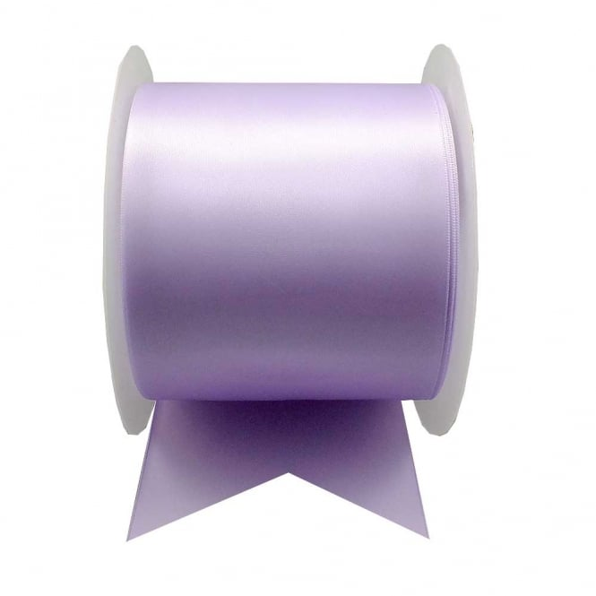 Satin Sash Ribbon 100mm (4inch) - Lilac - 1m