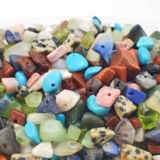 Semi-Precious Gemstone Chip Mix - 50g