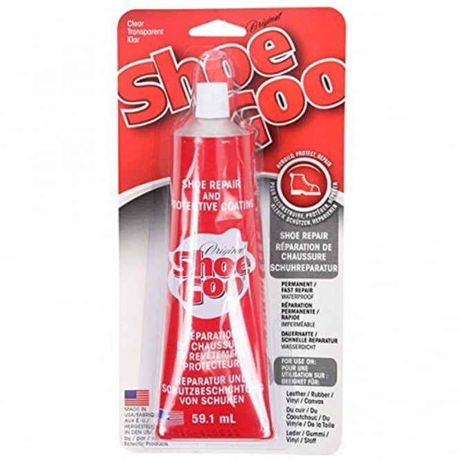 Shoe Goo Clear 60ml Genuine Glue - Trainers & All Shoe Repairs with Nozzle