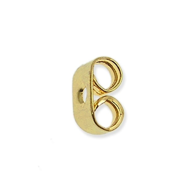 Standard Earring Scroll - Gold Plated - 50pk