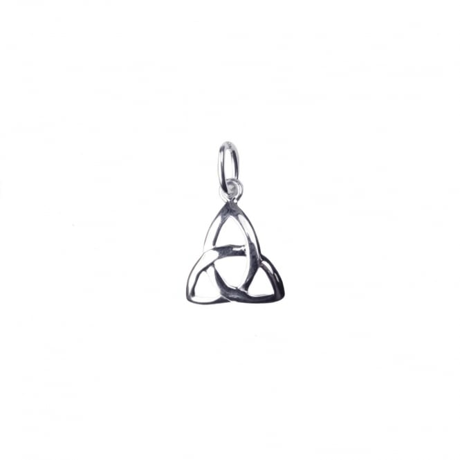 Sterling Silver - 10mm Celtic Triangle Charm - 1pc