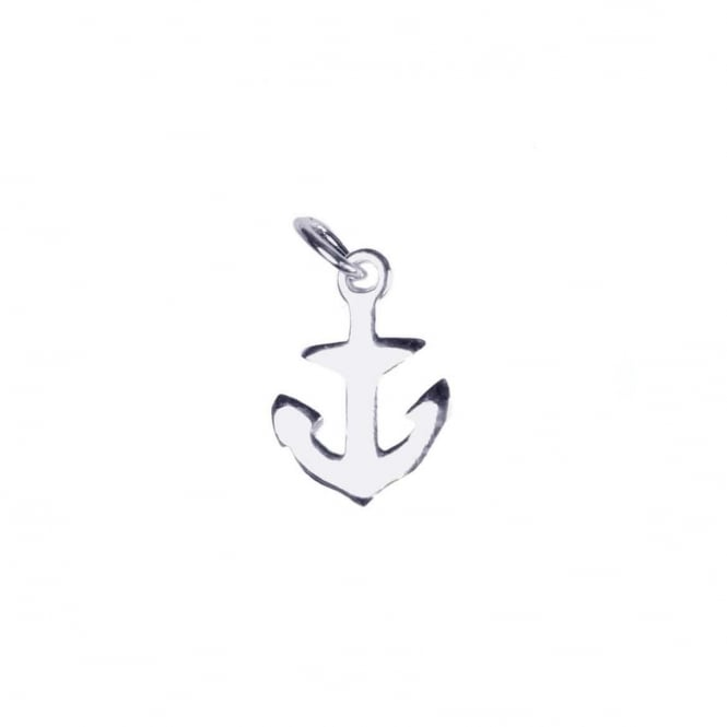 Sterling Silver - 12x9mm Anchor Charm - 1pc
