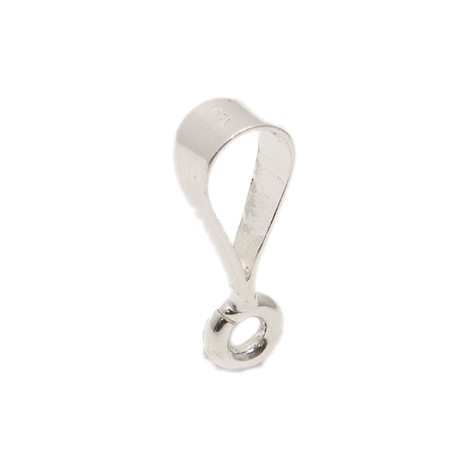 Sterling Silver - 15mm Pendant Bail - 1pk
