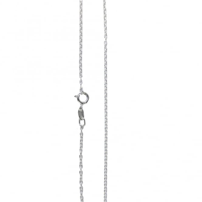 "Sterling Silver - 18"" Light Fine Trace Chain Necklace - 1pc"