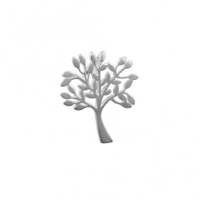 Sterling Silver - 22x18mm Tree of Life Pendant - 1pc