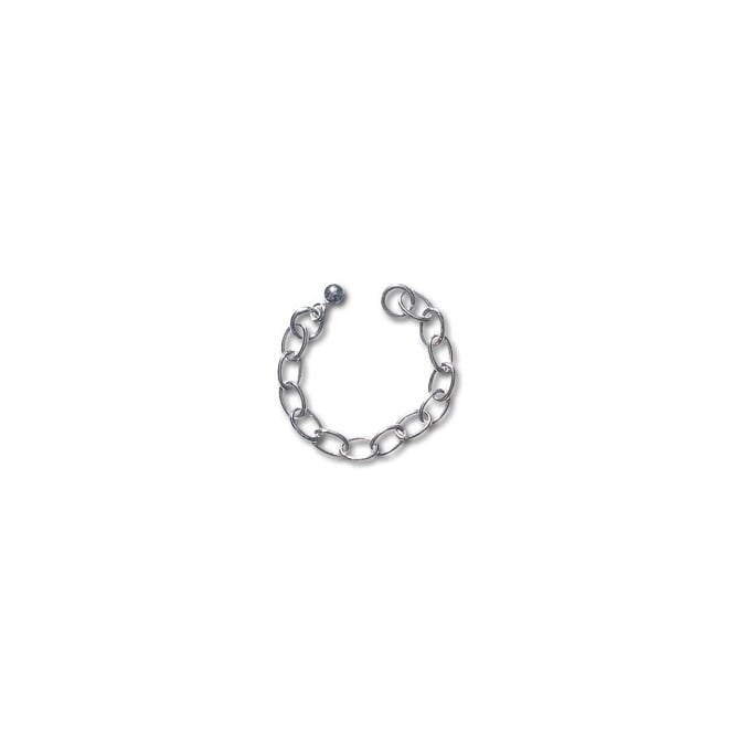 Sterling Silver - Extension Chain with Ball End - 1pk