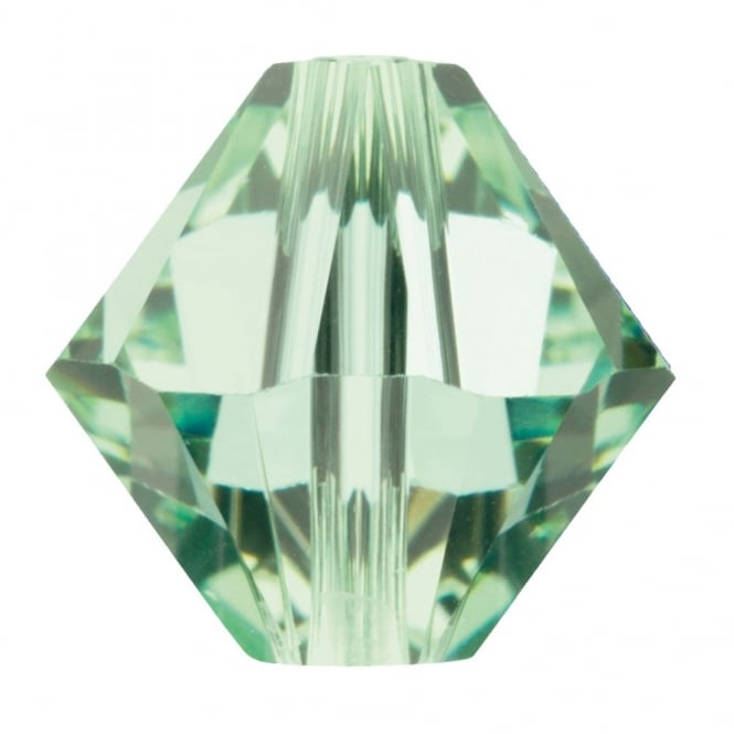 Swarovski 5328 - 4mm Xilion Bicone Beads - Chrysolite - 20pk