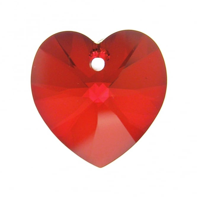 6228 Xilion Hearts 14mm - Light Siam - 1pk