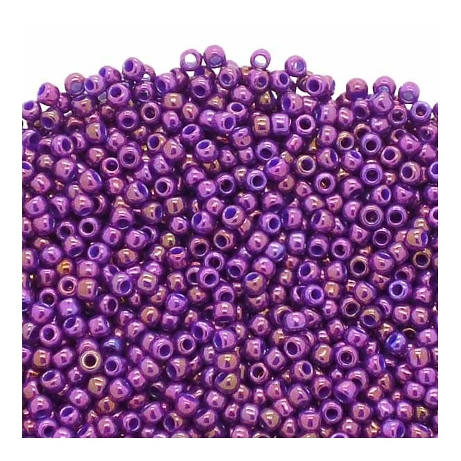 Toho Seed Beads 11/0 - Higher Metallic Grape - 10g