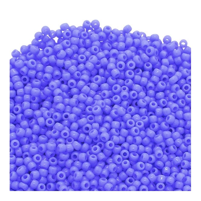 Seed Beads 11/0 - Opaque Periwinkle - 10g