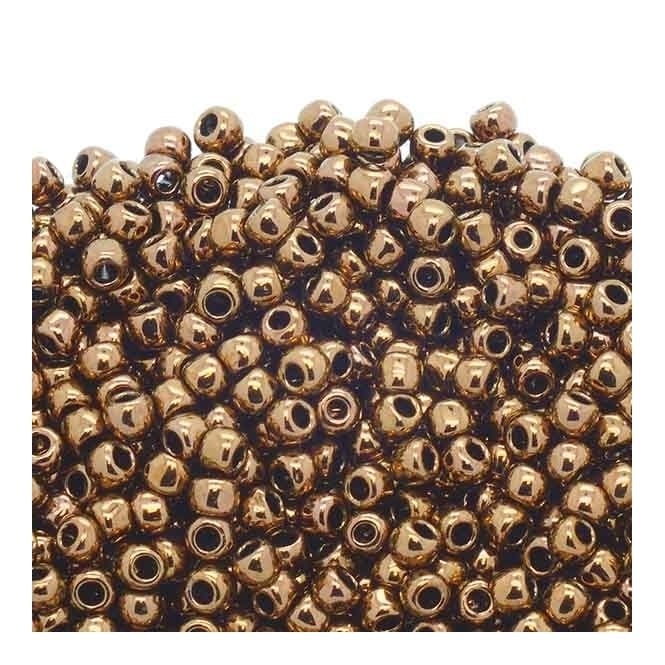 Seed Beads 6/0 - Antique Bronze - 10g
