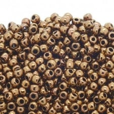 Toho Seed Beads 6/0 - Antique Bronze - 10g