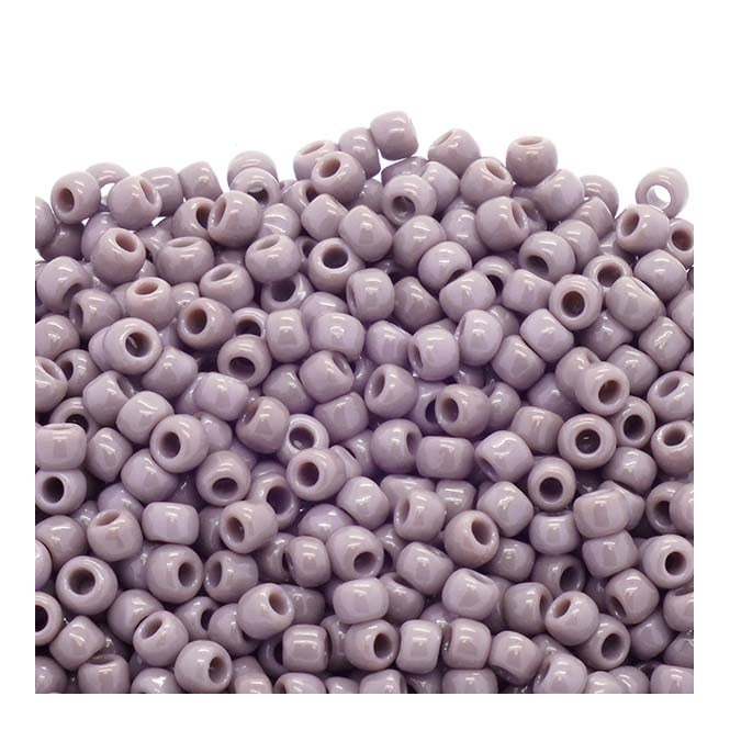 Toho Seed Beads 6/0 - Opaque Lavender - 10g