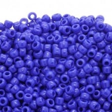 Toho Seed Beads 6/0 - Opaque Navy Blue - 10g