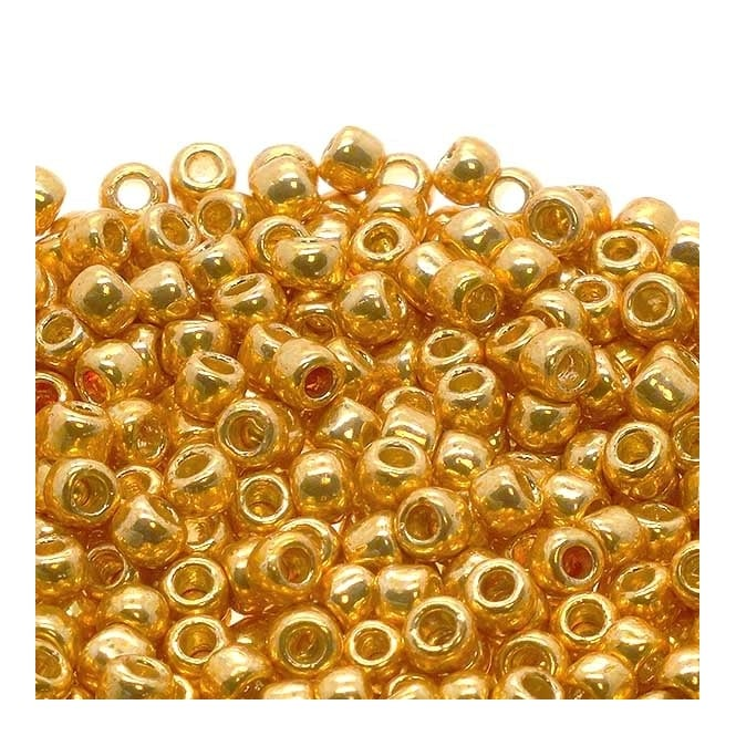 Seed Beads 6/0 - Permanent Finish Galvanized Starlight - 10g