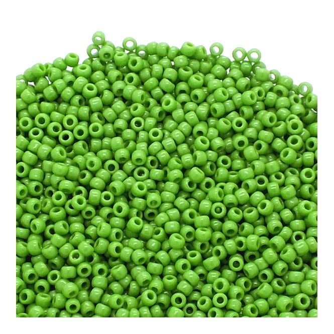 Seed Beads 11/0 - Opaque Mint Green - 10g