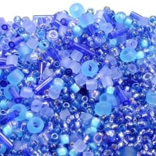Toho Seed Beads Mix - Blue Mix (Amamizu) - 10g