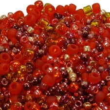 Toho Seed Beads Mix - Red Mix (Momiji) - 10g