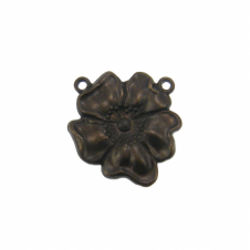 Vintaj Natural Brass - 16mm Flower
