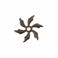 Vintaj Natural Brass - 21mm Pinwheel Petals