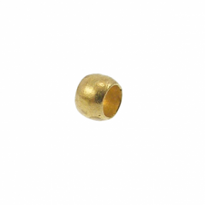 Vintaj Natural Brass - 2mm Round Crimp Bead