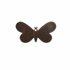 Vintaj Natural Brass - 33x18mm Fairy Butterfly