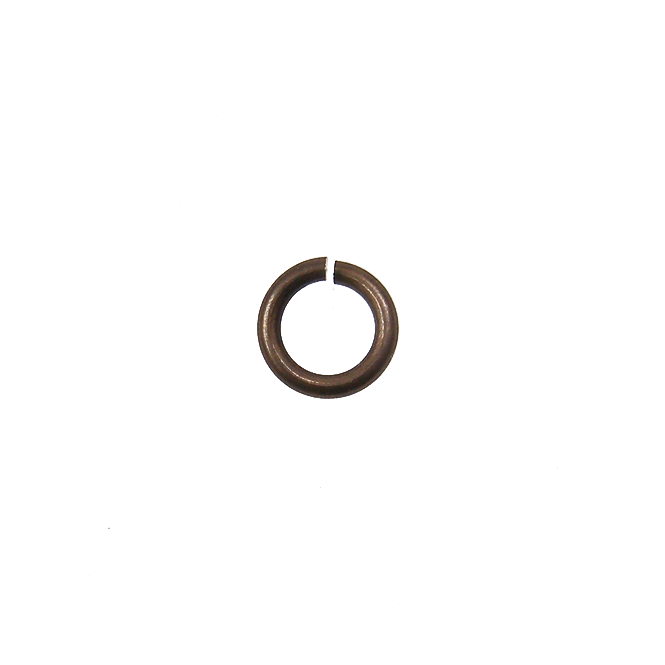 Vintaj Natural Brass - 4mm Jump Ring /Spacer