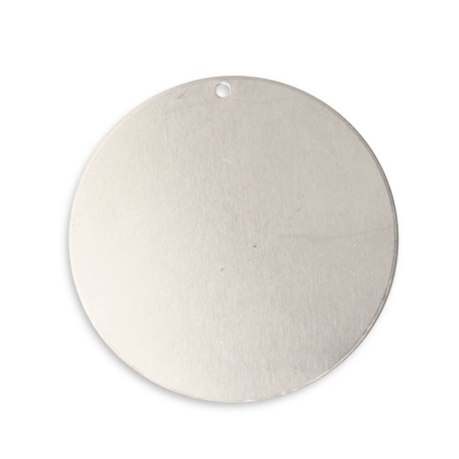 Vintaj Artisan Pewter - 35mm Large Circle - 1pk