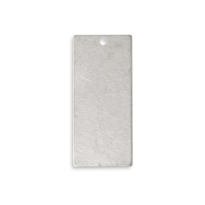 Artisan Pewter - 40x23mm Large Rectangle - 1pk