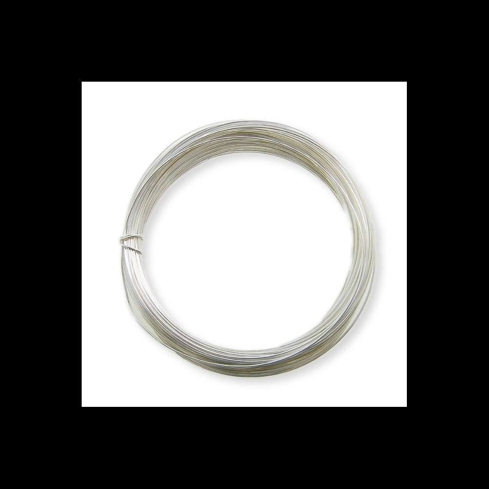 Wholesale 1.5mm Craft Wire (Non-Tarnish) Silver Plated - 50 Packs of ...