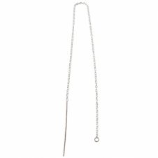 Wholesale Sterling Silver - Pull Through Chain Ear Dangle Threader - 20 Pack