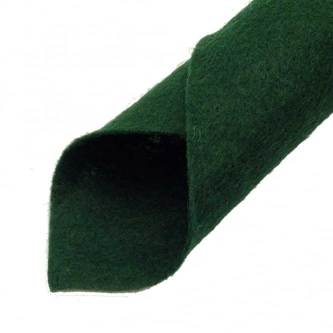 Wool Mix Felt Fabric Square 22cm/9inch - Ivy - 1pk